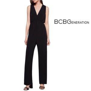 NWT BCBGeneration Empire Waist Jumpsuit